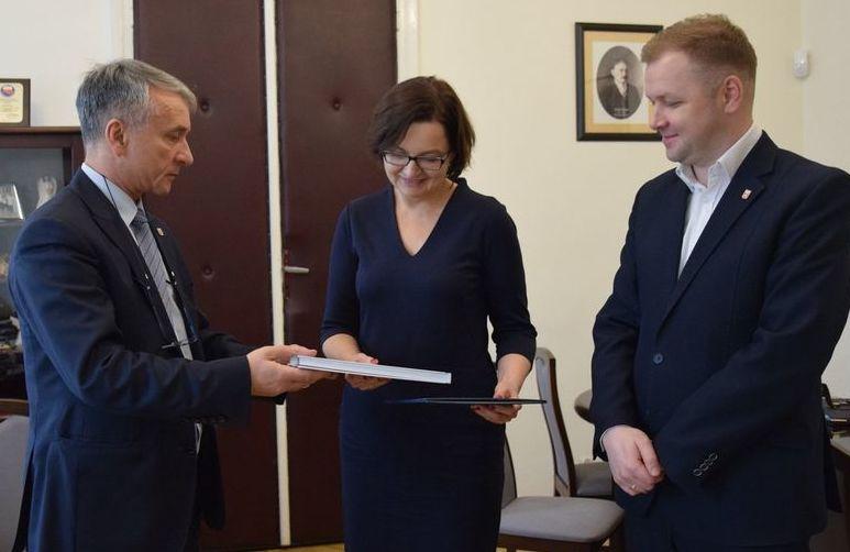 Poseł Anita Sowińska z wizytą w Gminie Opoczno.