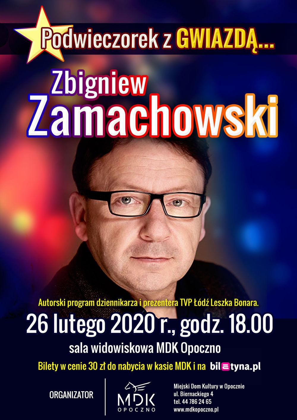 Zbigniew Zamachowski w MDK