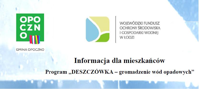 """Zawieszenie naboru wniosków w ramach Programu Priorytetowego """"DESZCZÓWKA - Gromadzenie wód opadowych"""""""