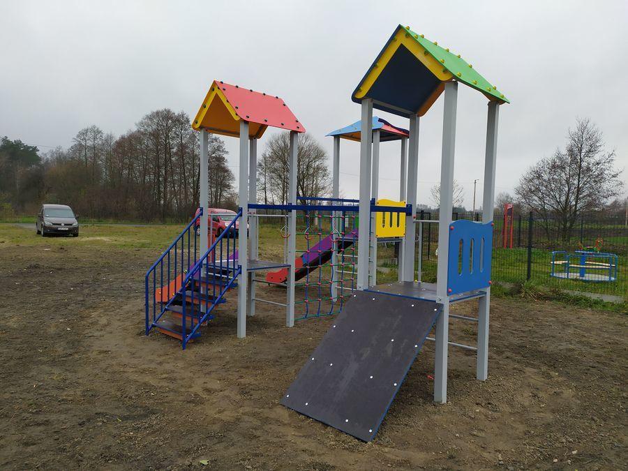 Plac zabaw w sołectwie Kliny