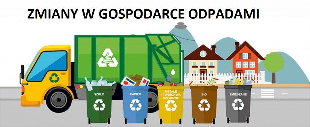 Zmiany w gospodarce odpadami komunalnymi od stycznia 2021 r.