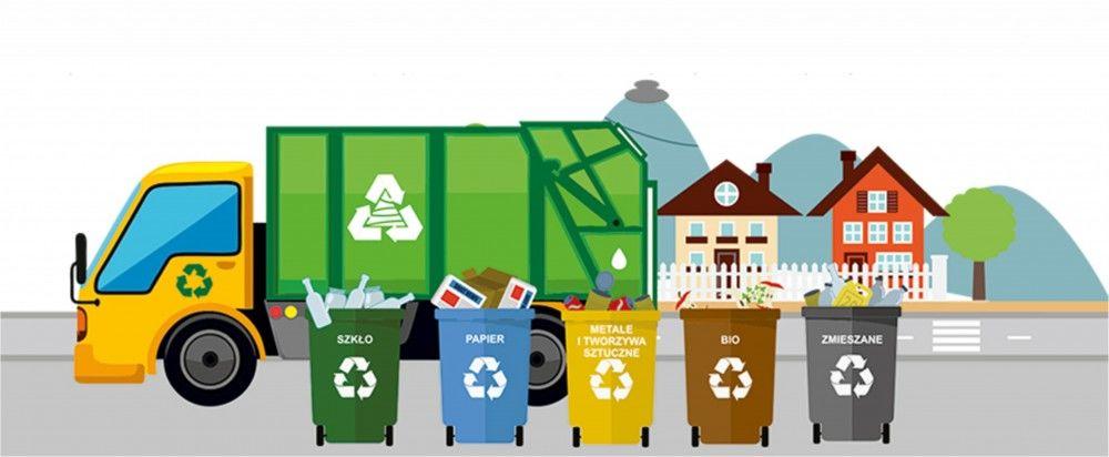Harmonogram odbioru odpadów komunalnych w gminie Opoczno w 2021 r.