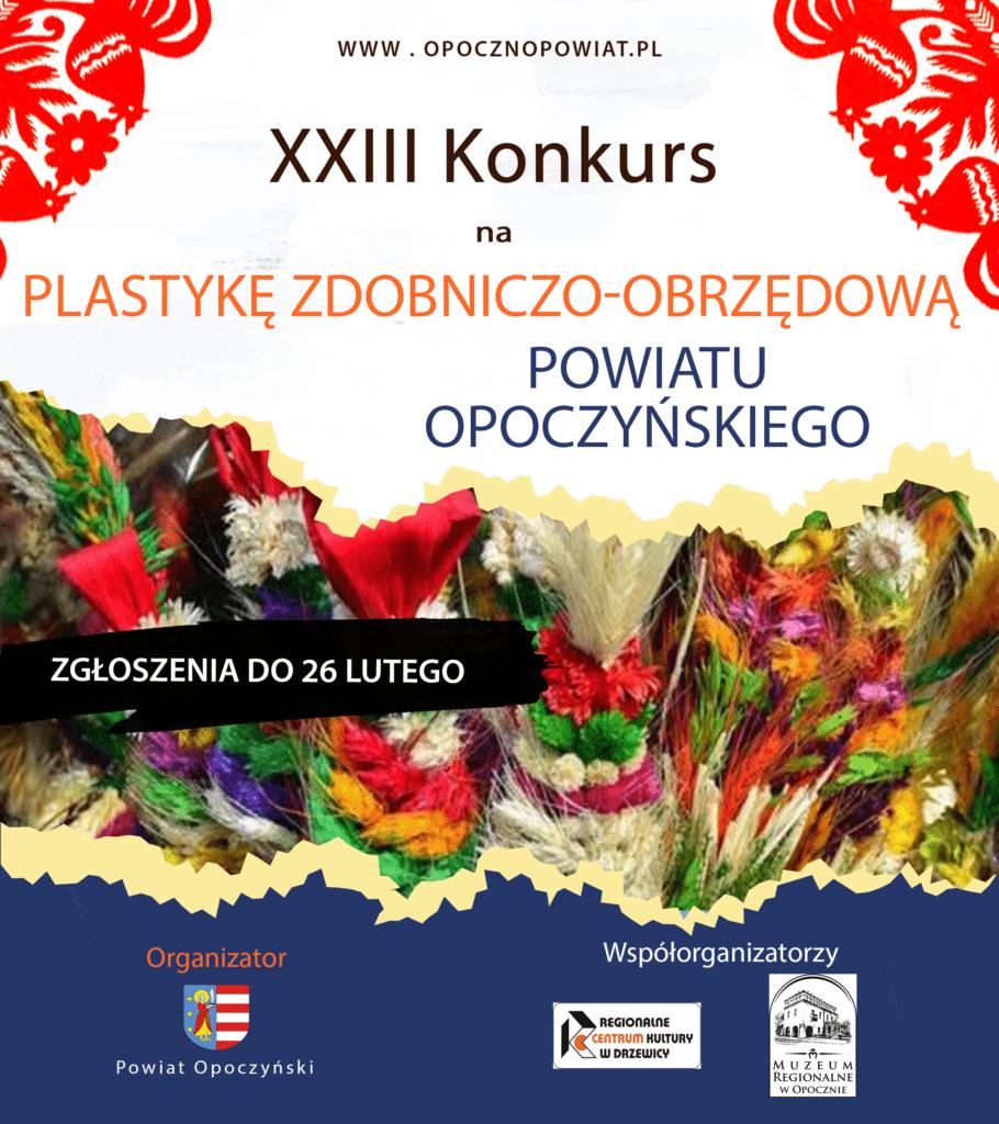 Konkurs na plastykę zdobniczo-obrzędową powiatu opoczyńskiego