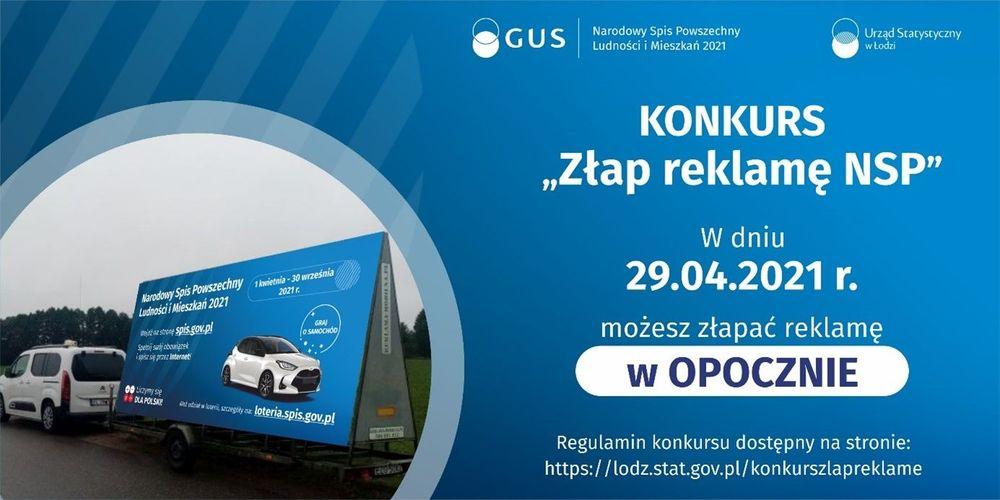 """Złap reklamę NSP""  - konkurs"