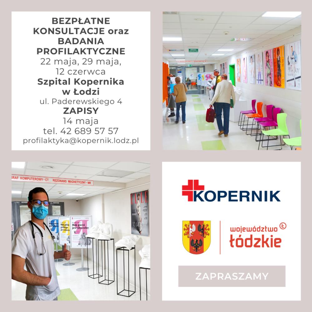 Bezpłatne konsultacje oraz badania profilaktyczne