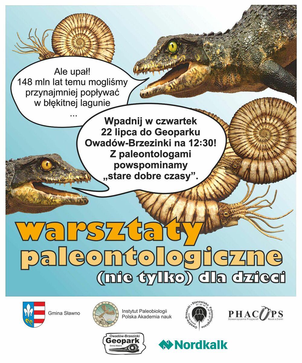 Warsztaty paleontologiczne