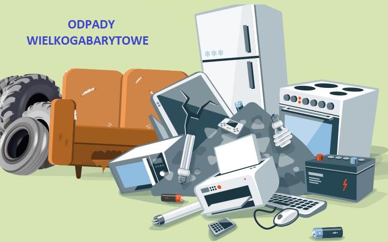 Odbioru odpadów wielkogabarytowych w sierpniu
