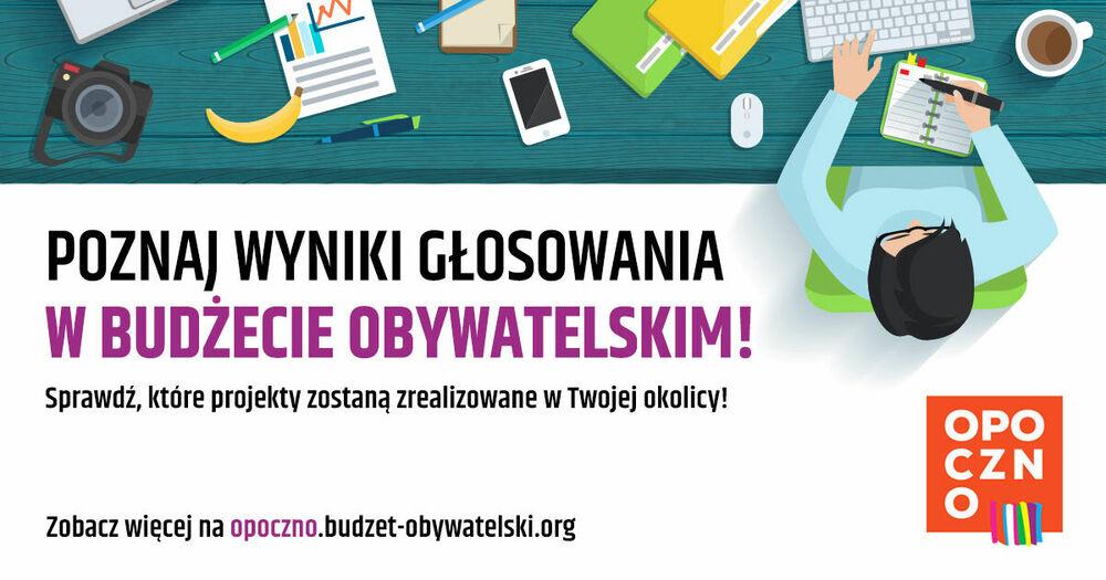 Ogłoszenie wyników II edycji Budżetu Obywatelskiego Gminy Opoczno