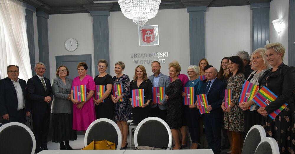 Wręczenie nagród dla nauczycieli i dyrektorów
