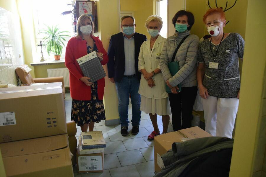 Wsparcie dla Szpitala Powiatowego im. Edmunda Biernackiego w Opocznie