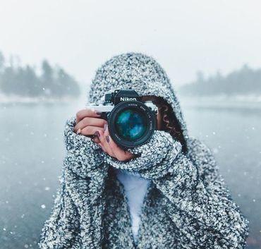 Forograf zimą