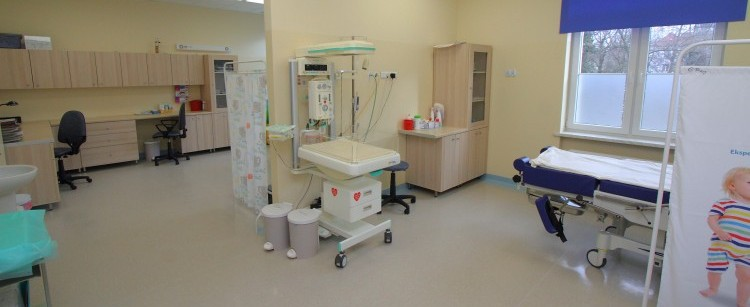 Nowy Trakt Porodowy w puławskim szpitalu