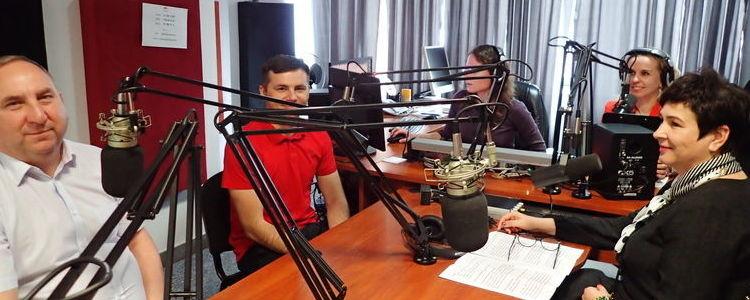 Starosta z puławskimi sportowcami w Radio Puławy 24