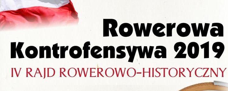 """""""Rowerowa Kontrofensywa 2019"""" rajd rowerowo-historyczny 11 sierpnia"""