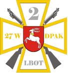 Informacja o szkoleniu żołnierzy WOT w okolicach Niebrzegowa