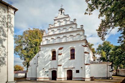 GMINA RYKI - Bobrowniki - Kościół parafialny p.w. Nawiedzenia NMP