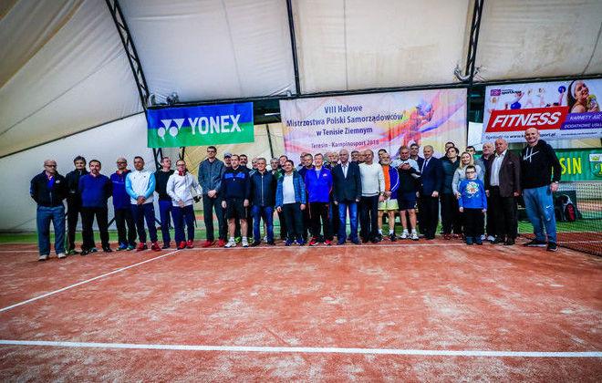 VIII Halowe Mistrzostwa Samorządowców w Tenisie – Teresin 2018