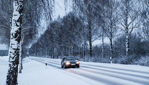 Ostrzeżenie o opadach śniegu