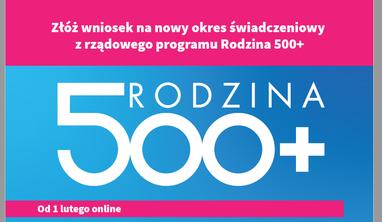 Rządowy Program Rodzina 500+ Informacje