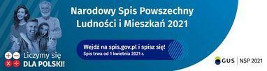 Informacje na temat NSP - Narodowego Spisu Powszechnego Ludności i Mieszkań 2021