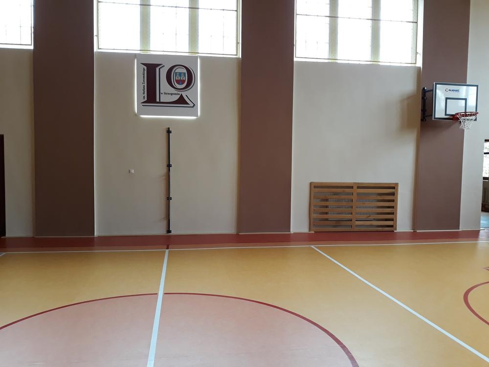 Modernizacja hali sportowej LO