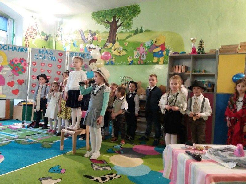 Święto Babci i Dziadka w oddziale przedszkolnym w Olszanach