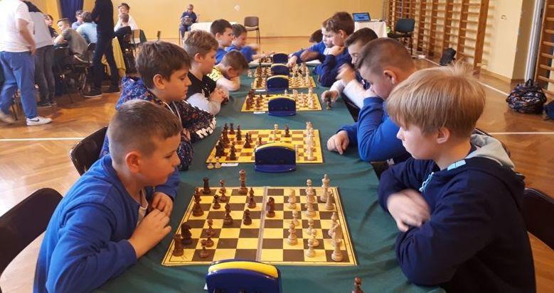 Rekordowe mistrzostwa szachistów  w Strzegomiu