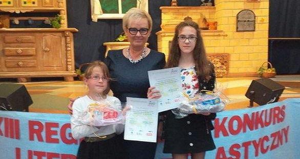 XIII Konkurs Plastyczno-Literackim Moja Mama pod patronatem Poseł na Sejm RP Izabeli Katarzyny Mrzygłockiej rozstrzygnięty