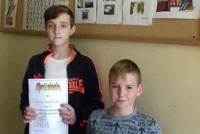 Sukces uczniów PSP w Stanowicach