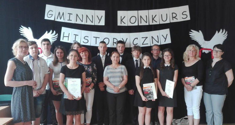 "VI Gminny Konkurs Historyczny ""Powstania narodowe""."