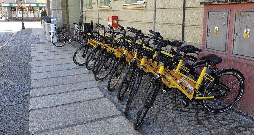 Ruszył pierwszy w historii Strzegomia system roweru publicznego