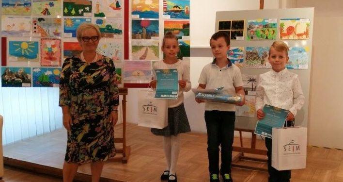 Młody artysta z Goczałkowa