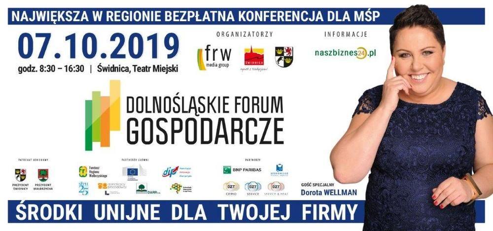 Zaproszenie na Dolnośląskie Forum Gospodarcze