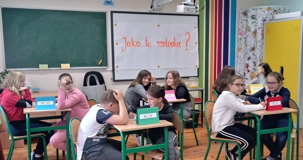 """""""Europejski Dzień Języków Obcych"""" w PSP im. Jana Pawła II w Kostrzy"""