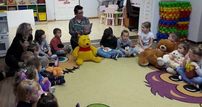 Światowy Dzień Pluszowego Misia w Przedszkolu w Stanowicach