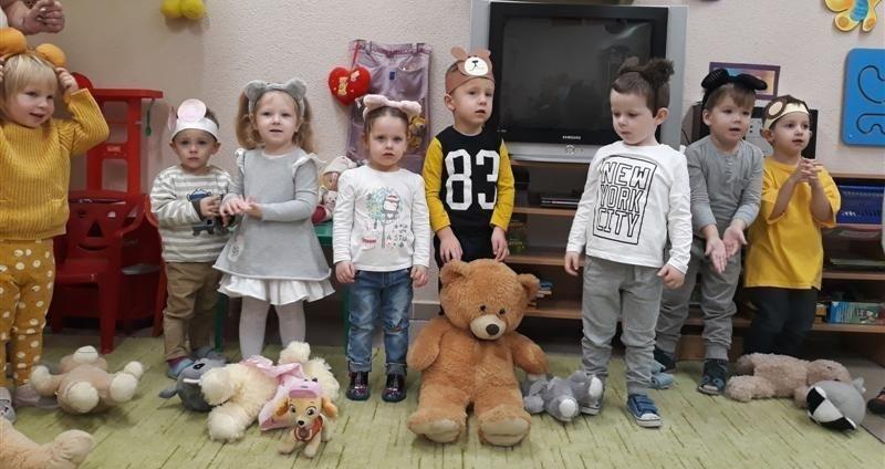 Światowy Dzień Pluszowego Misia w Przedszkolu Nr 4