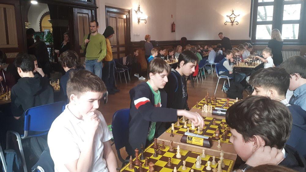 15. miejsce strzegomskich szachistów na Dolnym Śląsku