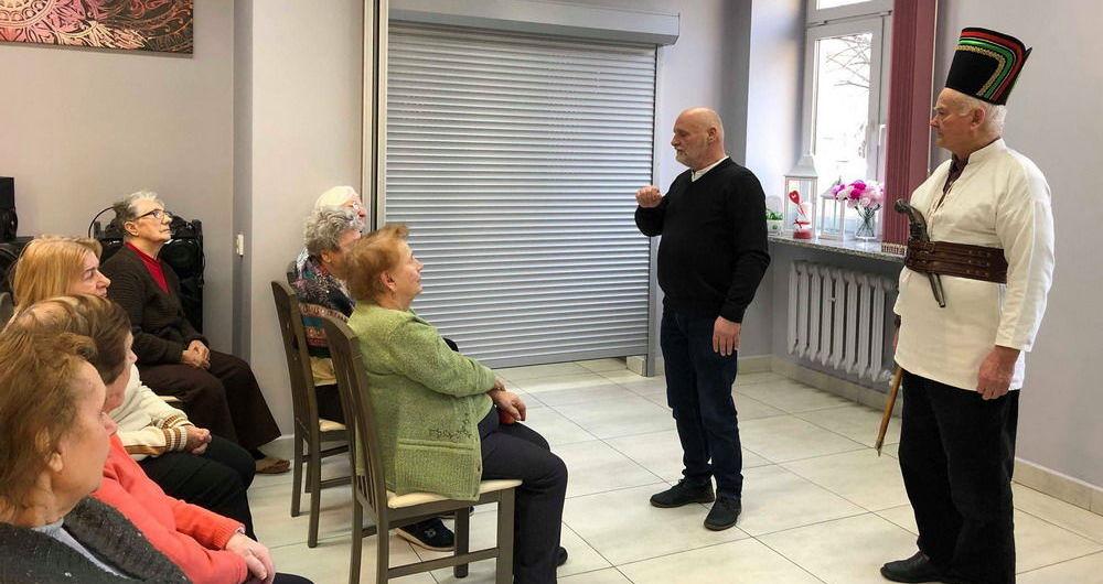 """""""Rozbójnicy Europy"""" w Dziennym Domu Pobytu """"Senior-Wigor"""""""