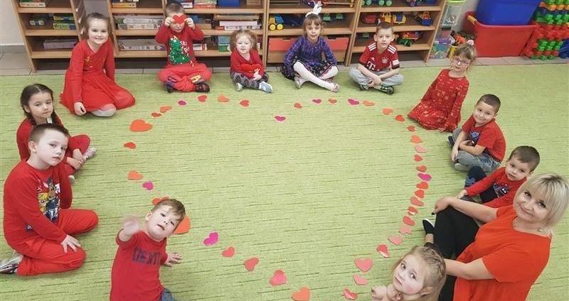 Walentynki w Publicznym Przedszkolu nr 4