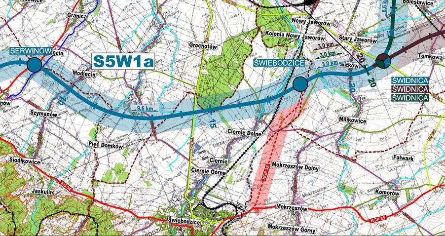 Rozbudowa/ budowa autostrady A4 na odcinku Wrocław - Krzyżowa