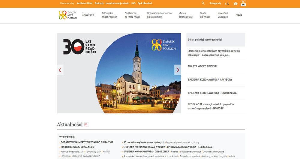 Związek Miast Polskich o Dniu Samorządu Terytorialnego