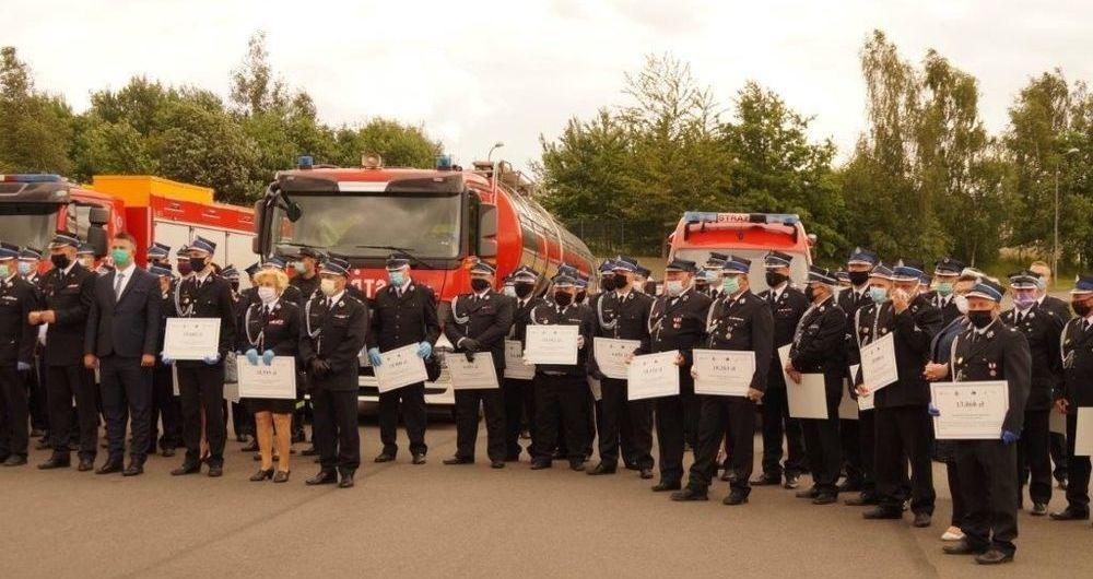 Dotacje dla Ochotniczych Straży Pożarnych Gminy Strzegom