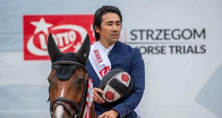 Japończyk wygrywa czterogwiazdkowy konkurs w Strzegomiu