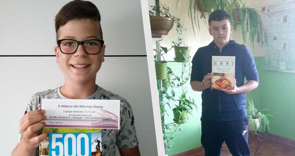 Poetycki sukces uczniów z Goczałkowa