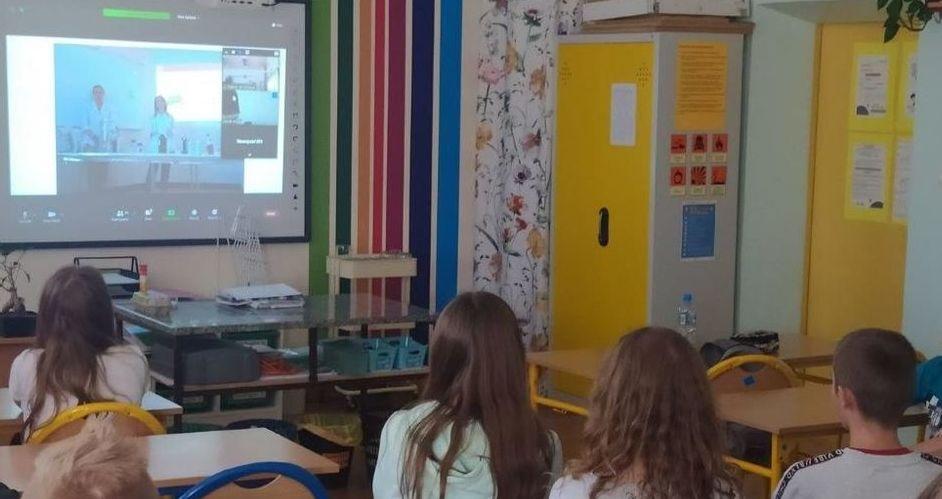 Uczniowie PSP w Kostrzy na Festiwalu Nauki