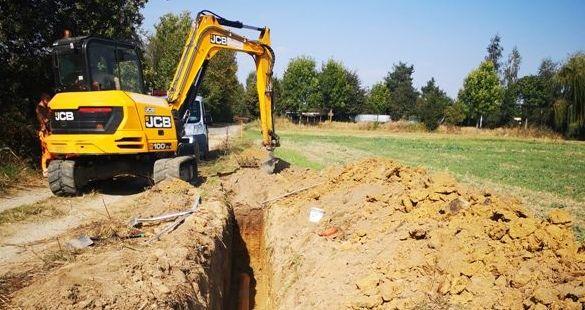 Rozpoczęto roboty budowlane w Rusku
