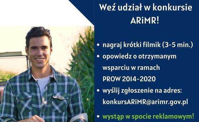 """Konkurs """"Zostań twarzą PROW 2014-2020"""""""