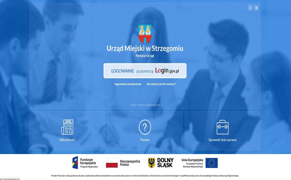 Skorzystaj z platformy www.eurzad.strzegom.pl!