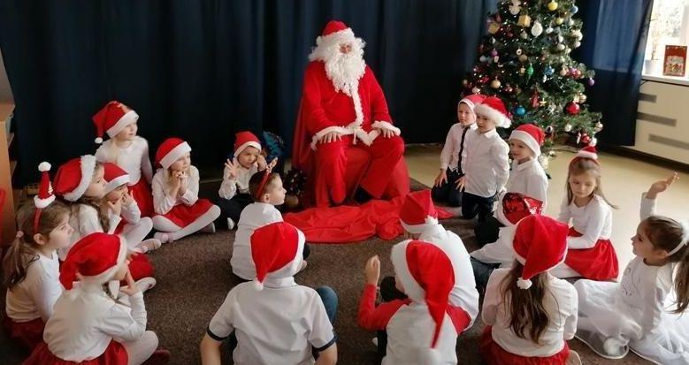 Wizyta św. Mikołaja w Publicznym Przedszkolu nr 4