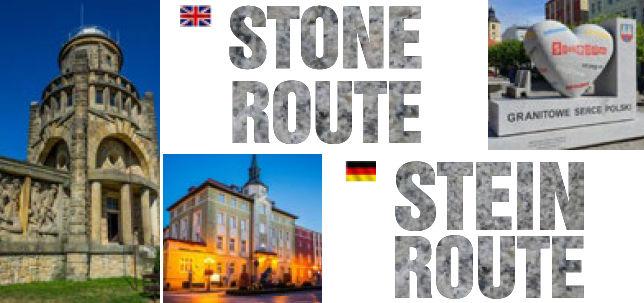 Szlak Kamienia w wersji EN i DE